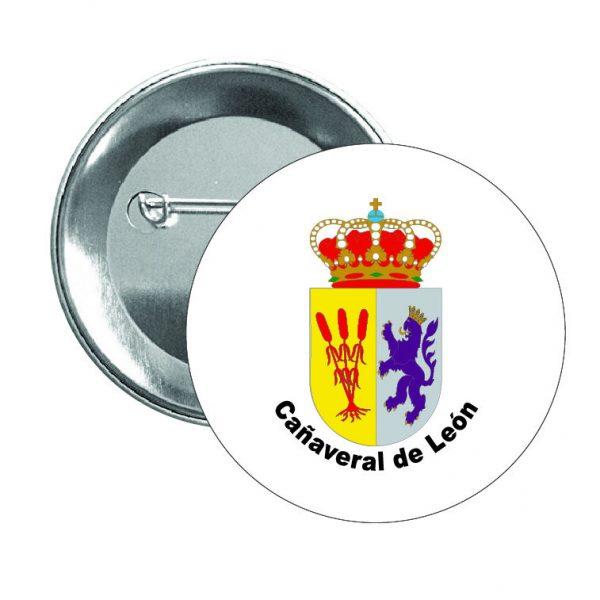 chapa escudo heraldico canaveral de leon