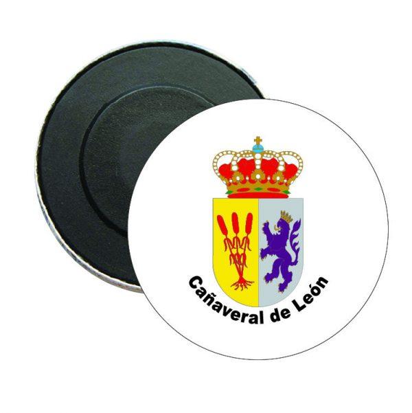 iman redondo escudo heraldico canaveral de leon