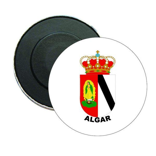 iman redondo escudo heraldico algar