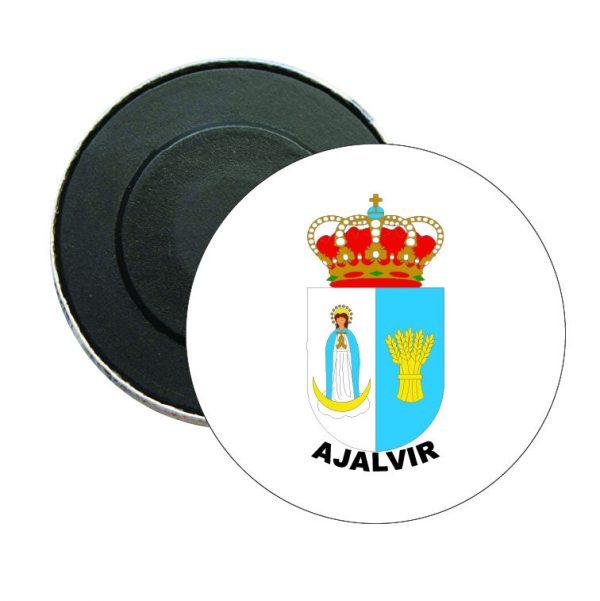 iman redondo escudo heraldico ajalvir