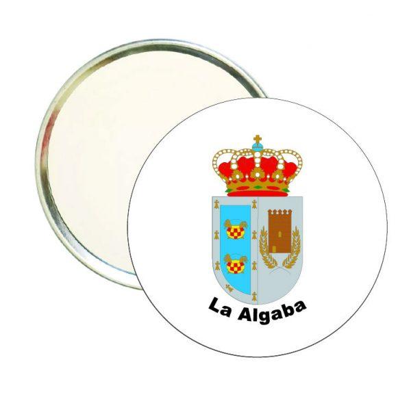espejo redondo escudo heraldico la algaba