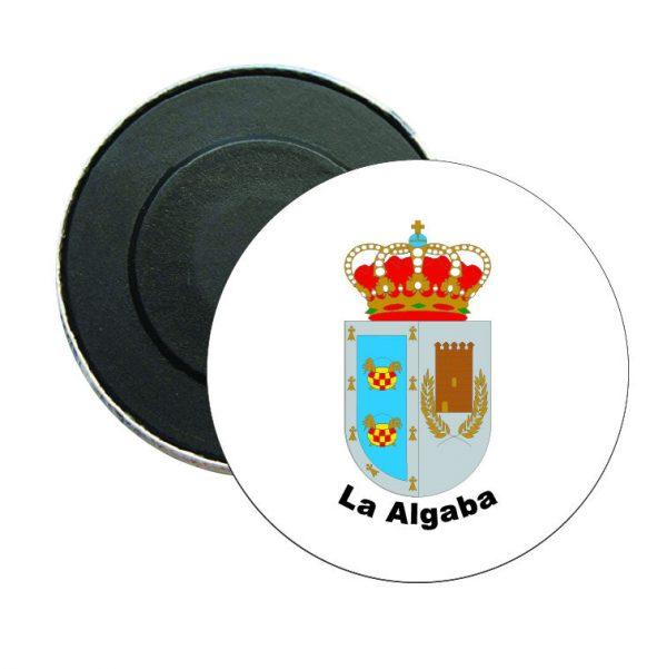 iman redondo escudo heraldico la algaba
