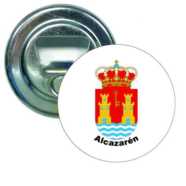abridor redondo escudo heraldico alcazaren