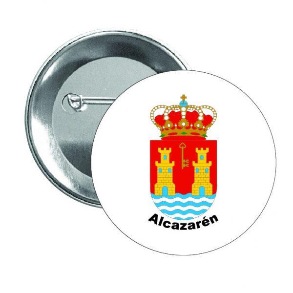 356 chapa escudo heraldico alcazaren