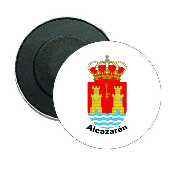 iman redondo escudo heraldico alcazaren
