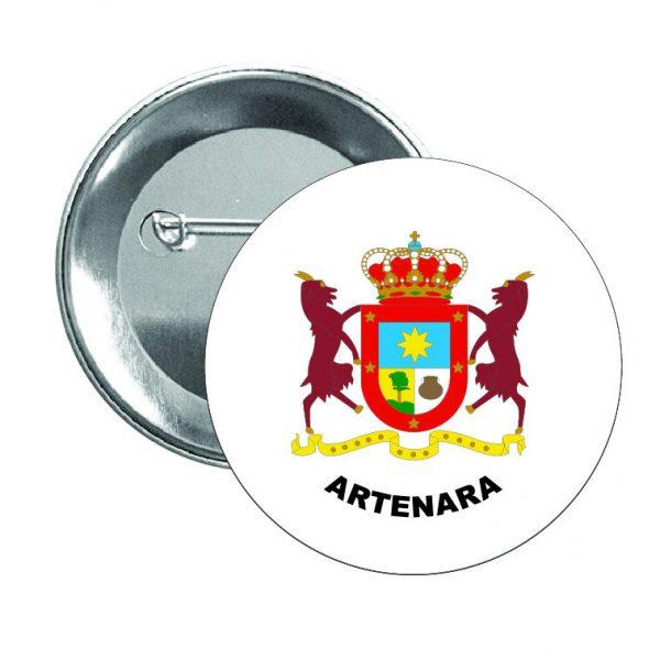 chapa escudo heraldico artenara
