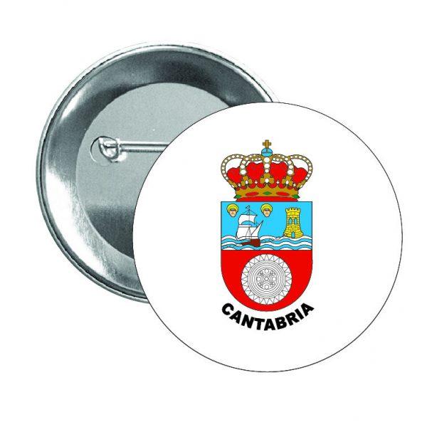 chapa escudo heraldico cantabria