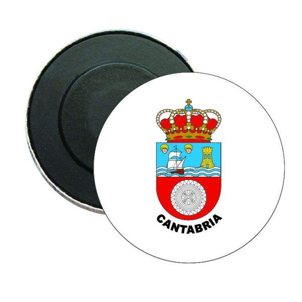 iman redondo escudo heraldico cantabria