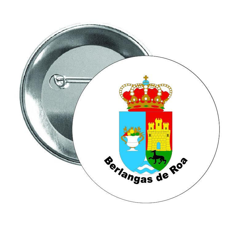 chapa escudo heraldico berlangas de roa