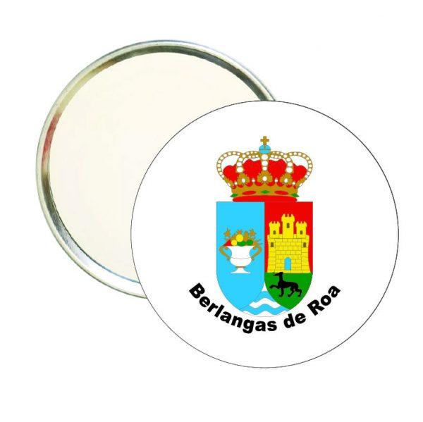 espejo redondo escudo heraldico berlangas de roa