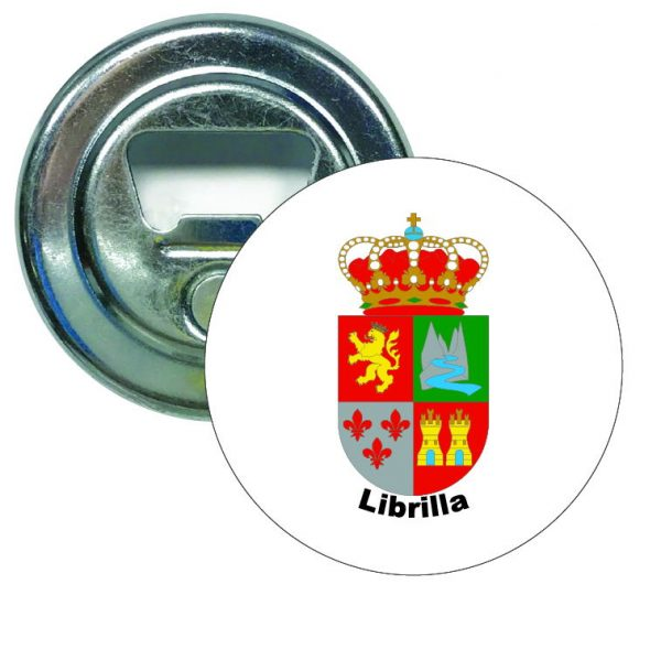 abridor redondoescudo heraldico librilla
