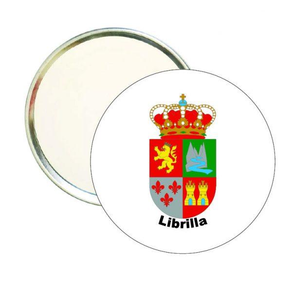 espejo redondoescudo heraldico librilla
