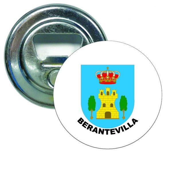 abridor redondo escudo heraldico berantevilla