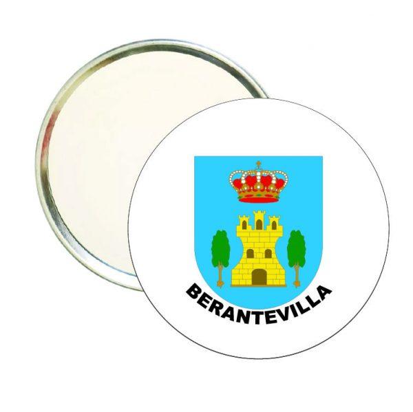 espejo redondo escudo heraldico berantevilla