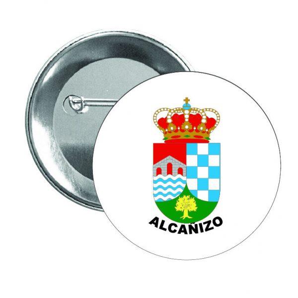 chapa escudo heraldico alcanizo