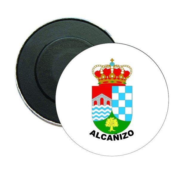 iman redondo escudo heraldico alcanizo