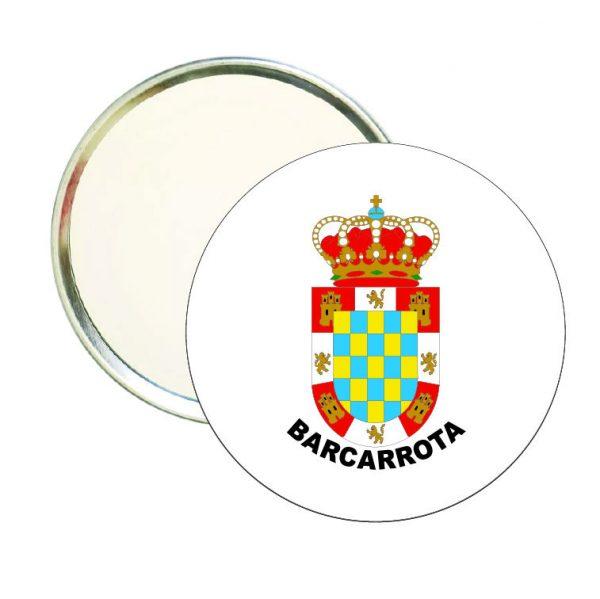 espejo redondo escudo heraldico bancarrota