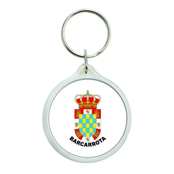 llavero redondo escudo heraldico bancarrota