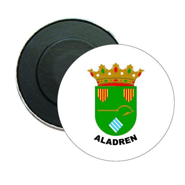 iman redondo escudo heraldico aladren