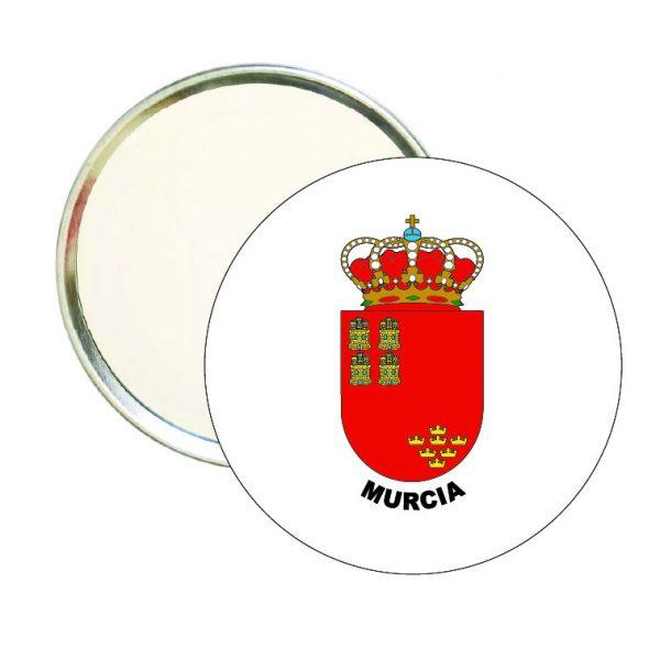 espejo redondo escudo heraldico murcia