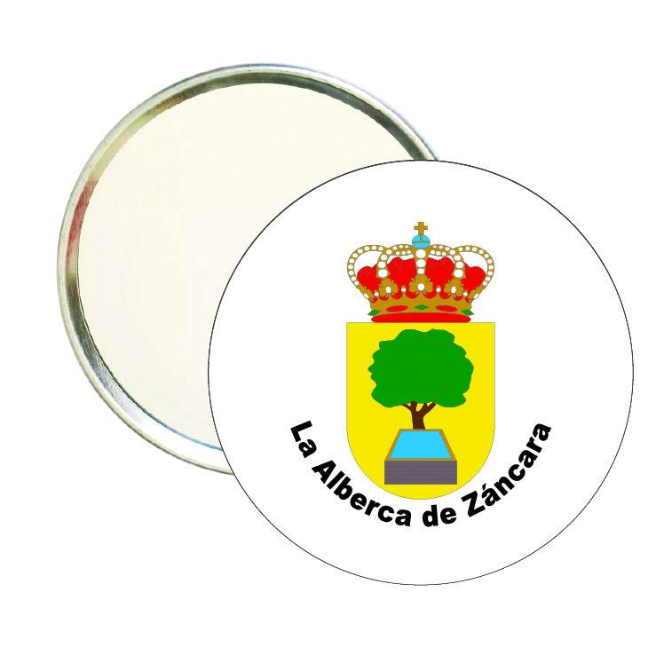 espejo redondo escudo heraldico la alberca de zancara