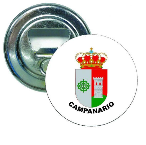 abridor redondo escudo heraldico campanario
