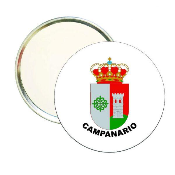 espejo redondo escudo heraldico campanario