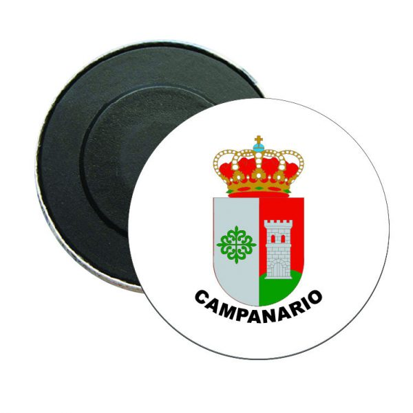 iman redondo escudo heraldico campanario
