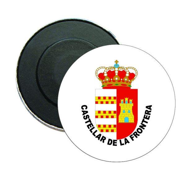 iman redondo escudo heraldico castellar de la frontera