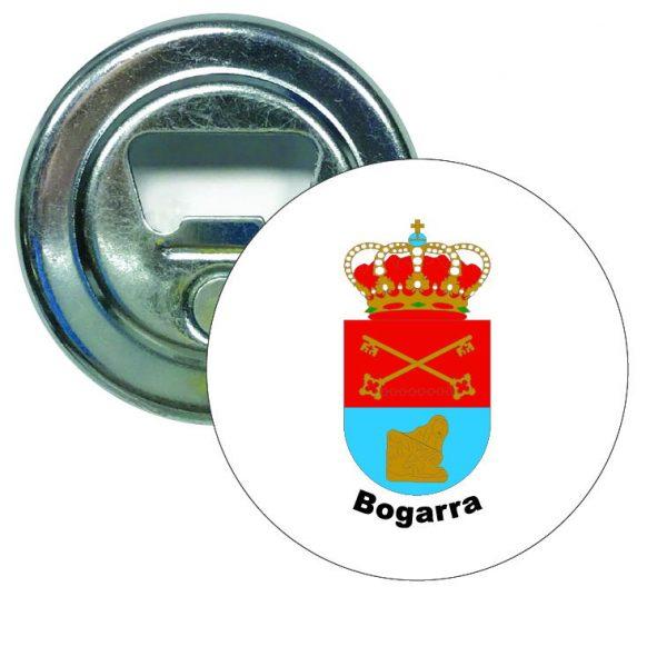 abridor redondo escudo heraldico bogarra