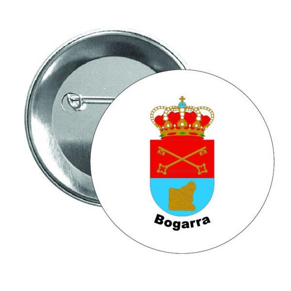 chapa escudo heraldico bogarra