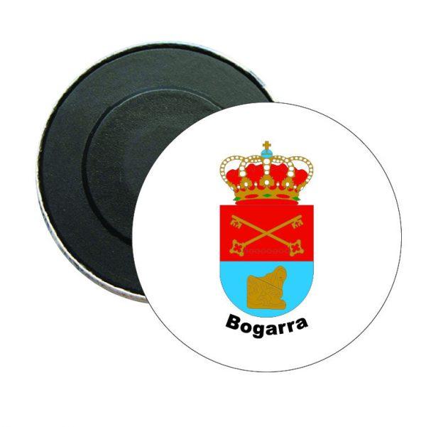 iman redondo escudo heraldico bogarra