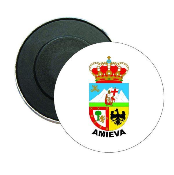 iman redondo escudo heraldico amieva