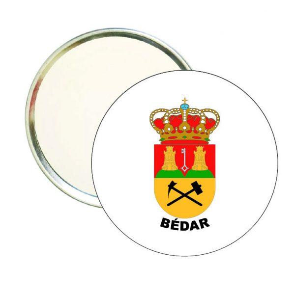 espejo redondo escudo heraldico bedar