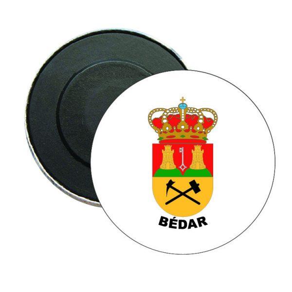 iman redondo escudo heraldico bedar