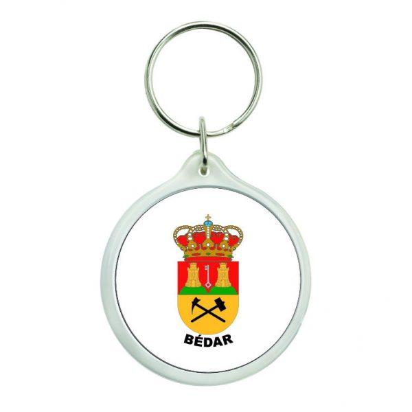 llavero redondo escudo heraldico bedar
