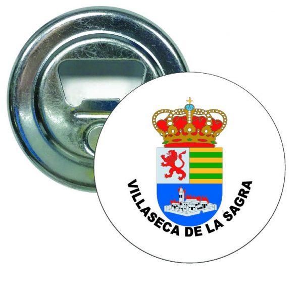 abridor redondo escudo heraldico villaseca de la sagra