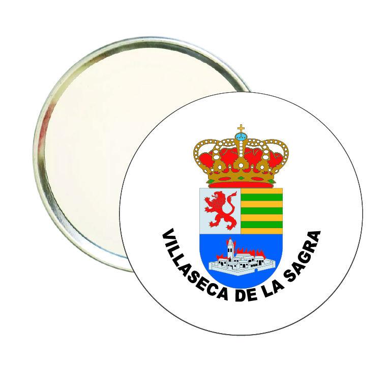 espejo redondo escudo heraldico villaseca de la sagra