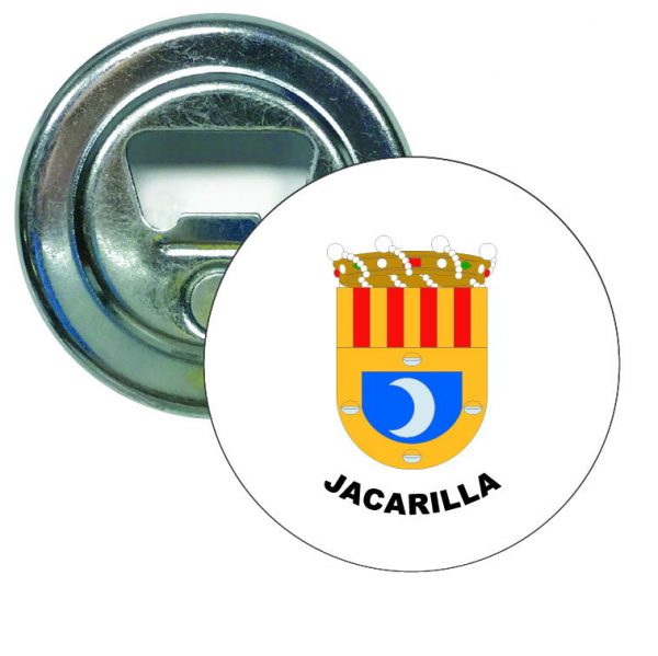 abridor redondo escudo heraldico jacarilla
