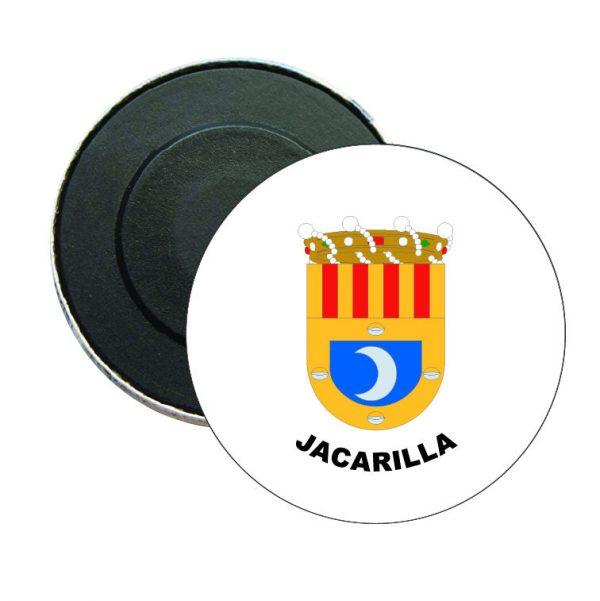 iman redondo escudo heraldico jacarilla