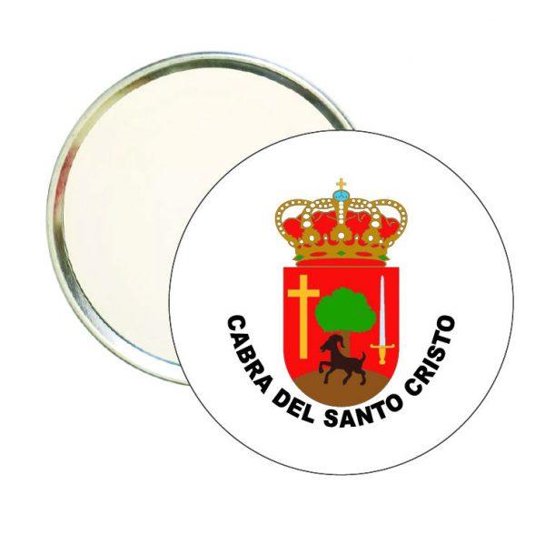 espejo redondo escudo heraldico cabra del santo cristo
