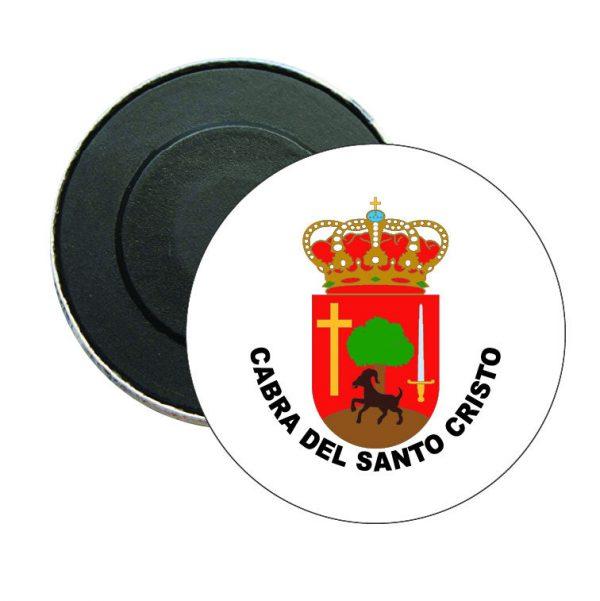 iman redondo escudo heraldico cabra del santo cristo