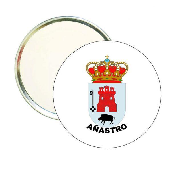 espejo redondo escudo heraldico anastro