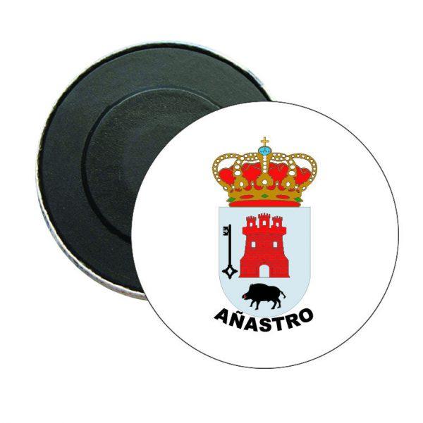 iman redondo escudo heraldico anastro