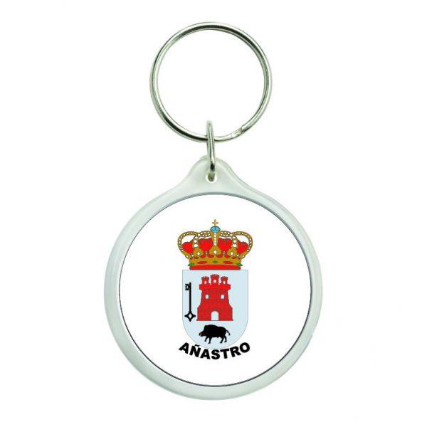 llavero redondo escudo heraldico anastro