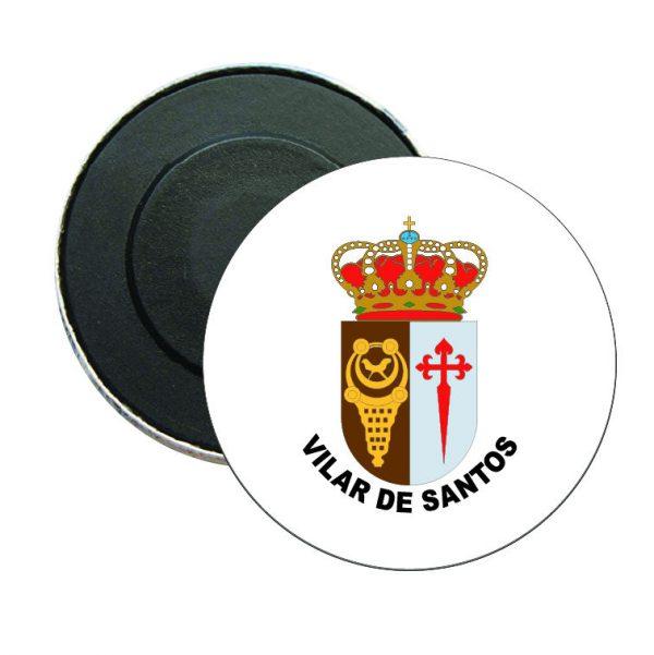 iman redondo escudo heraldico vilar de santos