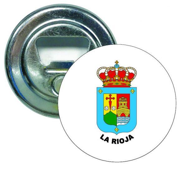 abridor redondo escudo heraldico la rioja
