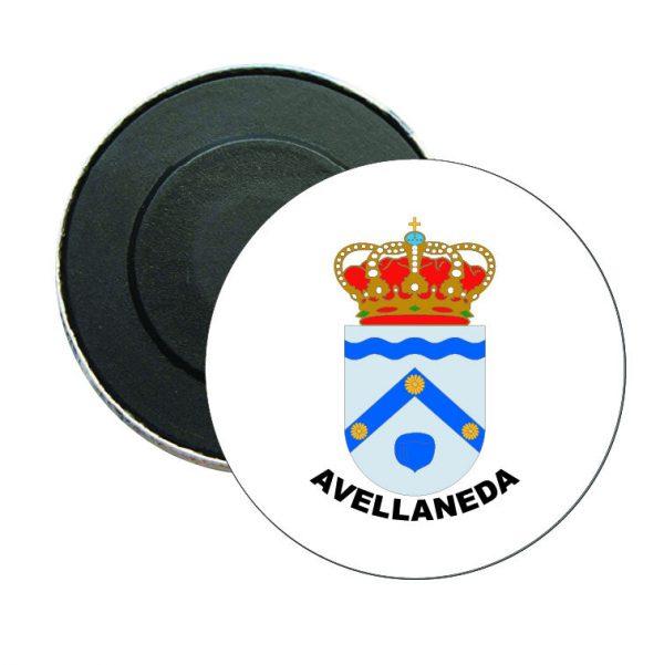 iman redondo escudo heraldico avellaneda