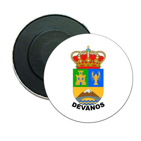 iman redondo escudo heraldico devanos
