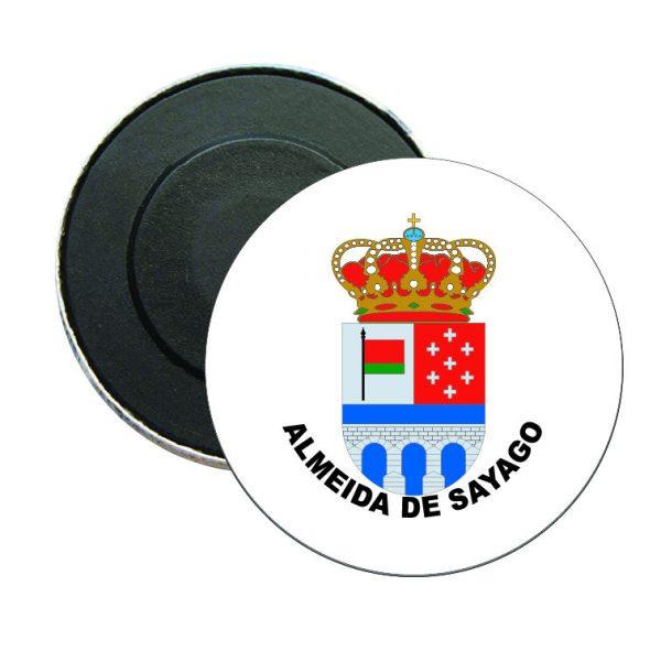 iman redondo escudo heraldico almeida de sayago